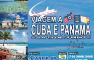 Viagem a Cuba e Panamá no mês de junho; confira os valores e saiba como participar