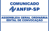 Institucional: Edital de Convocação para Assembleia Geral Ordinária da ANFIP-SP