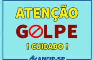 Tentativa de golpe utiliza nome de presidente da Anfip e Ações da Gat e Gdat