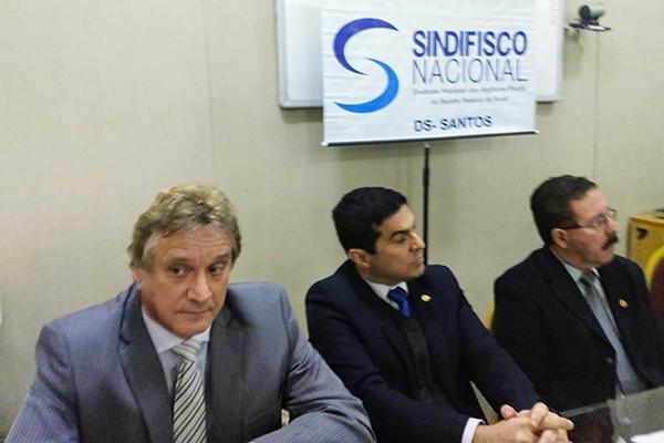 ANFIP-SP participa de atos contra medidas do STF e TCU na Receita Federal