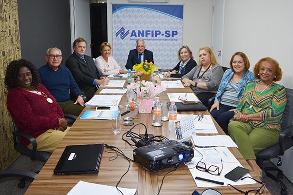 Magda Luci e Maria Amélia integram nova composição da Diretoria da ANFIP-SP