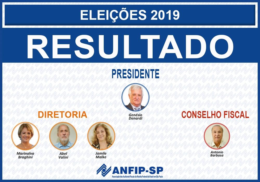 Genésio Denardi é reeleito presidente da ANFIP-SP; conheça os novos integrantes da diretoria e Conselho Fiscal