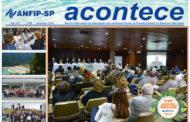 Jornal ACONTECE de setembro destaca VIII Encontro de Associados e Reunião de Representantes