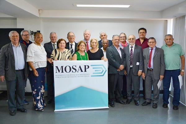 ANFIP-SP participa em Brasília de reunião do Mosap sobre reforma da Previdência