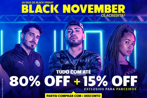 Convênio ANFIP-SP: Black November Netshoes