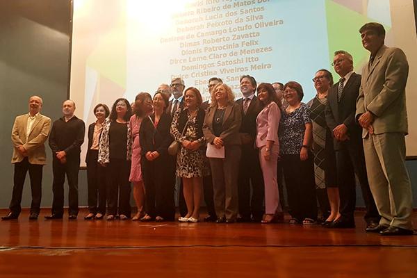 Receita premia e homenageia servidores ativos e os que se aposentaram este ano em São Paulo