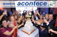 ACONTECE de dezembro destaca o Jantar Anual e a comemoração dos 52 anos da ANFIP-SP
