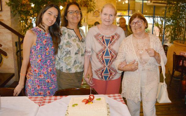 Veja fotos do primeiro almoço mensal da ANFIP-SP em 2020, realizado na Pizzaria Famiglia Mancini
