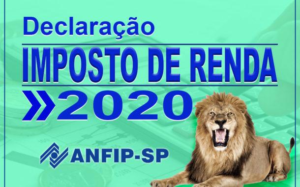 ANFIP-SP disponibiliza serviço gratuito de declaração do Imposto de Renda 2020