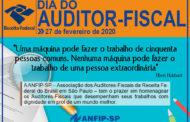 27 de fevereiro: Dia do Auditor-Fiscal