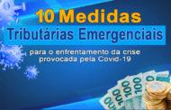 Site traz detalhamento de medidas fiscais para o combate ao coronavírus