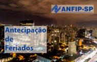 Prefeito de São Paulo sanciona feriado prolongado de amanhã até o próximo domingo