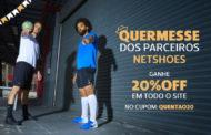 Convênio ANFIP-SP: promoção Quermesse dos Parceiros Netshoes