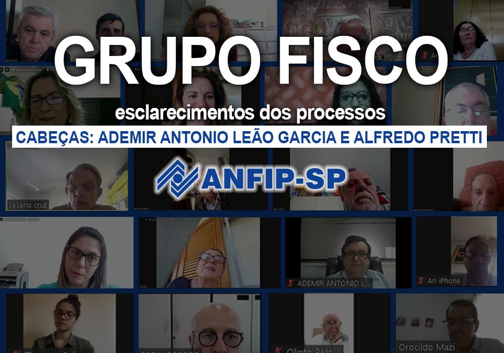 Grupo Fisco: reunião aborda processos de Ademir Antonio Leão Garcia e Alfredo Pretti