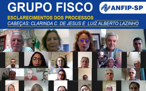 Grupo Fisco: reunião aborda processos de Clarinda Cândida de Jesus e Luiz Alberto Lazinho