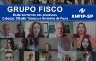 Grupo Fisco: reunião aborda processos de Cláudio Takaesu e Geraldina de Paula