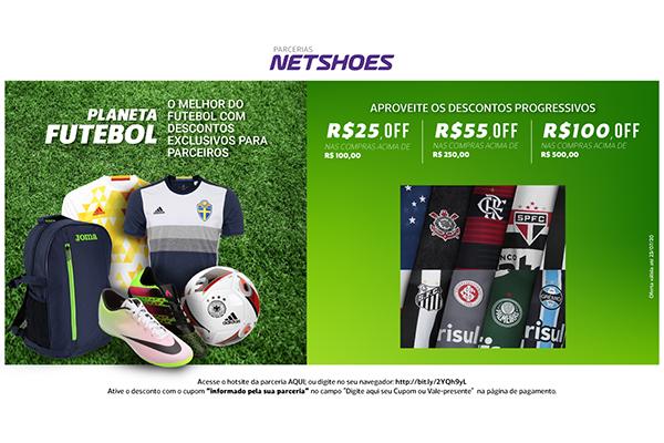 Convênio ANFIP-SP: promoção Planeta Futebol Netshoes