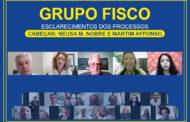 Grupo Fisco - reunião aborda processos de Neusa Macedo Nobre e Martim Affonso