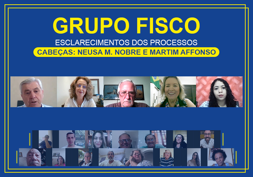 Grupo Fisco: reunião aborda processos de Neusa Macedo Nobre e Martim Affonso