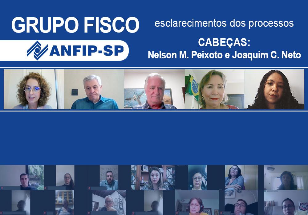 Grupo Fisco: reunião aborda processos de Nelson Martins Peixoto e Joaquim Cardoso Neto
