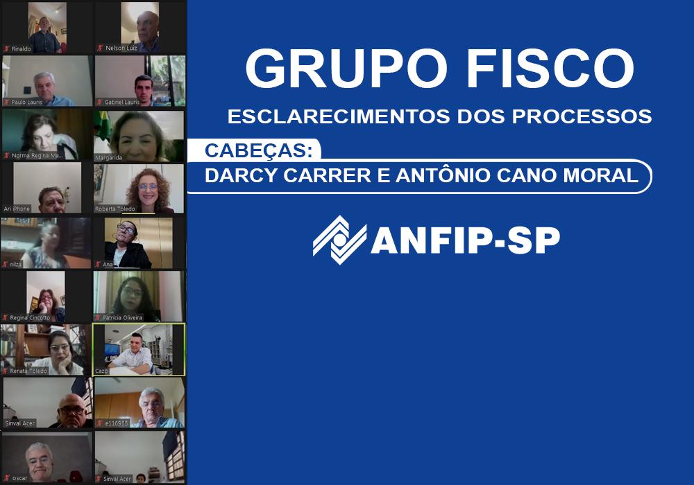 Grupo Fisco: reunião aborda processos de Darcy Carrer e Antônio Cano Moral