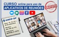 Quer aprender a usar aplicativos videoconferências e reuniões online? A ANFIP-SP tem curso gratuito