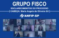 Grupo Fisco: reunião aborda processo encabeçado por Maria Angela de Oliveira Gil