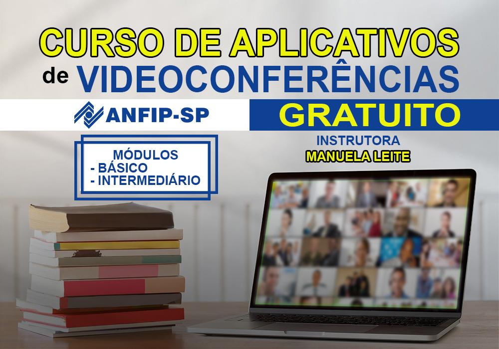 Inscrições abertas para curso gratuito para uso de aplicativos de videoconferências nível básico e intermediário