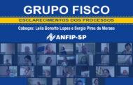 Grupo Fisco: reunião aborda processos de Leila Bonotto e Sérgio Pires de Moraes