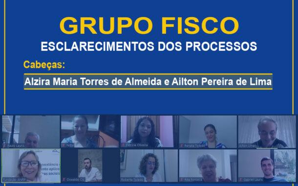 Grupo Fisco: reunião aborda processos de Alzira Maria Torres de Almeida e Ailton Pereira de Lima