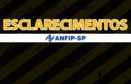 ANFIP-SP alerta associados sobre contatos de advogados sem vínculos com o Grupo Fisco e 28,86%