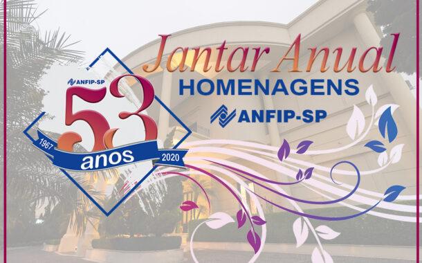 ANFIP-SP presta homenagem com fotos e vídeos dos 53 anos do Jantar Anual; confira!