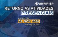 ANFIP-SP retomará atividades presenciais em expediente reduzido a partir do dia 9