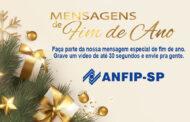 Especial de fim de ano: grave uma mensagem de Boas Festas e envie pra gente