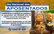 24 de janeiro: Dia Nacional dos Aposentados