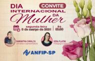 ANFIP-SP vai abordar desafios e inteligência emocional em live do Dia Internacional da Mulher