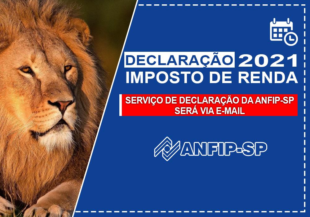ANFIP-SP fará atendimento para declaração do IR apenas por e-mail; presencial está suspenso