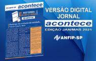 Jornal ACONTECE aborda importância da participação dos associados na reforma estatutária