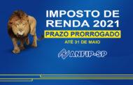 Receita Federal prorroga prazo para declaração do IRPF para 31 de maio