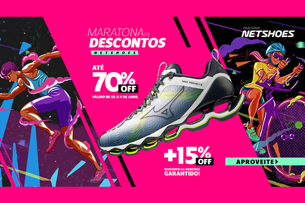 Convênio ANFIP-SP: Maratona de Descontos Netshoes