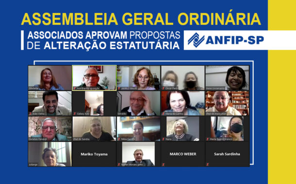 Associados aprovam propostas de reforma do Estatuto da ANFIP-SP; confira as principais