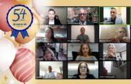 Associados e autoridades prestigiam live dos 54 anos de atuação da ANFIP-SP